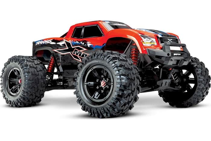 Traxxas X-Maxx 4WD 8S brushless rc monster truck Red