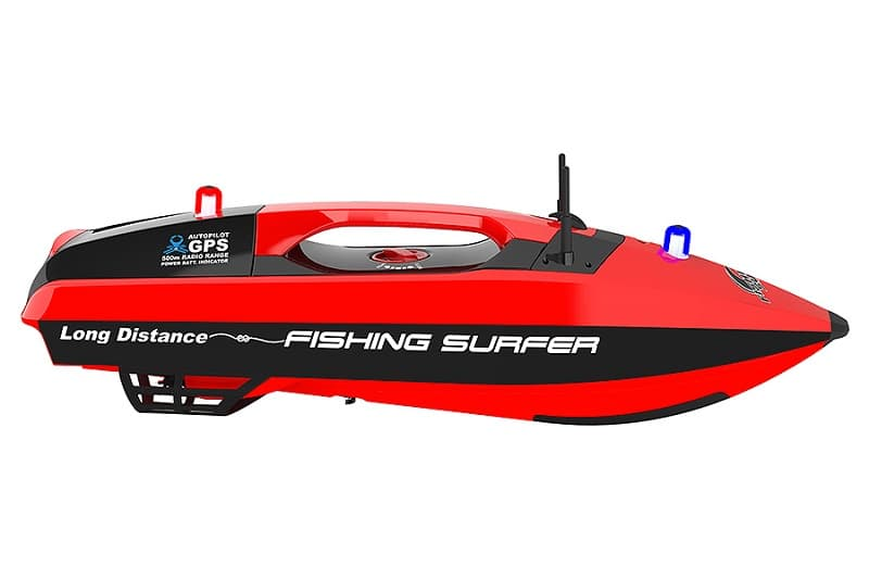 FISHING PEOPLE SURF LAUNCHED RC BAIT RELEASE GPS BOAT