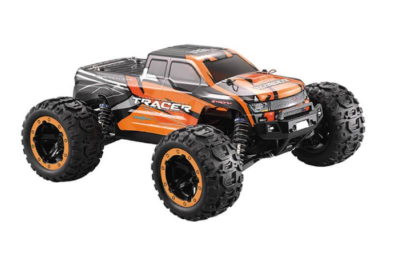 FTX TRACER 1/16 4WD RC MONSTER TRUCK RTR - ORANGE